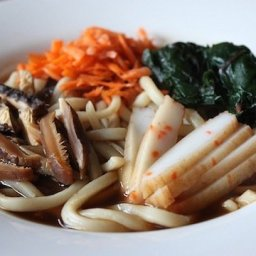 Autumn Udon with Vegetables