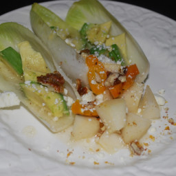 Avocado & Pear Endive Salad