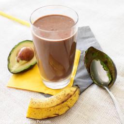 Avocado and Chocolate Smoothie