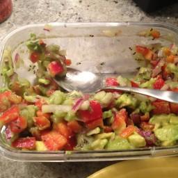 Avocado and Kiwi Salsa