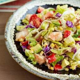 Avocado  and  Shrimp Chopped Salad