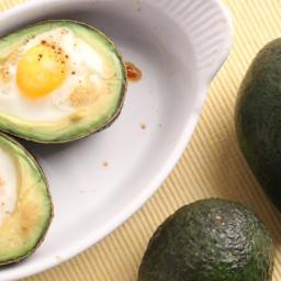 Avocado Baked Eggs Recipe