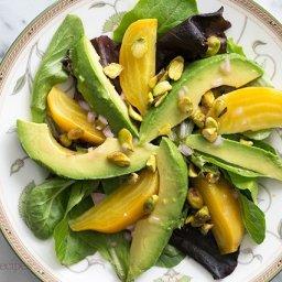 Avocado Beet Salad with Citrus Vinaigrette