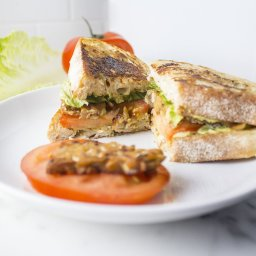 Avocado BLT Sandwich (Vegan)