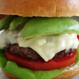 Avocado Burger Recipe