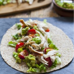 Avocado & Chicken Tortilla Wraps