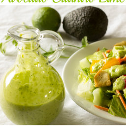 Avocado Cilantro Lime Salad Dressing Recipe