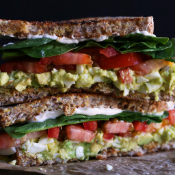 Avocado Egg Salad Sandwiches