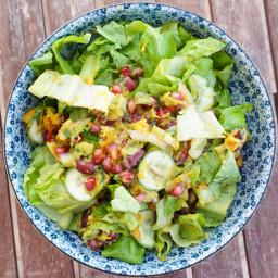 Avocado Pomegranate Salad