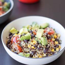 Avocado Quinoa Bowl
