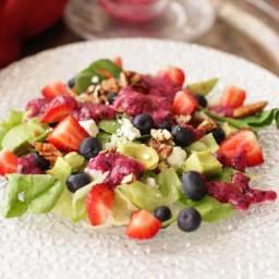 Avocado Salad Recipe With Blueberry Vinaigrette