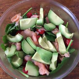 Avocado Salmon Salad