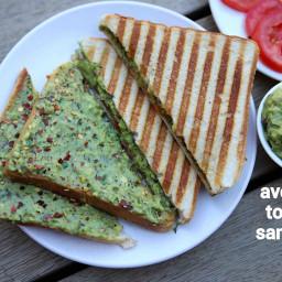 avocado toast recipe | avocado sandwich | avocado bread toast