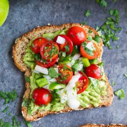 Avocado Toast w/Cherry Tomato Salsa