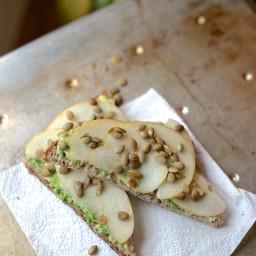 Avocado Toast with Apple & Toasted Pepitas