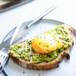 Avocado Toast with Turmeric Egg