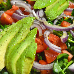 Avocado, Tomato and Watercress Salad