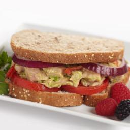 Avocado Tuna Sandwich