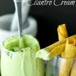 Avocado Cilantro Cream
