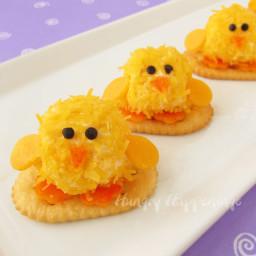 Baby Chick Cheese Balls