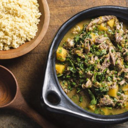 Babylonian Lamb or Beef and Turnip Stew