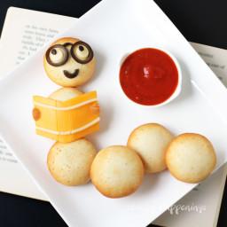 Back to School Snack - Farm Rich Mozzarella Bites Bookworm