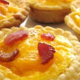 Bacon and Egg Breakfast Tarts Recipe