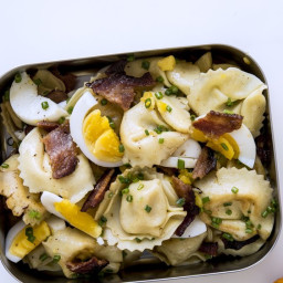 Bacon and Egg Tortellini
