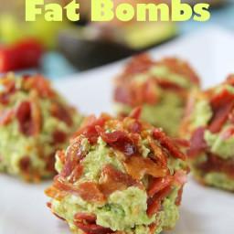 Bacon and Guacamole Fat Bombs