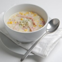 Bacon and Sweetcorn Chowder