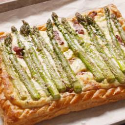 Bacon-Asparagus Tart