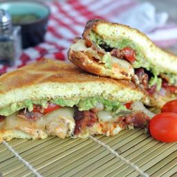 Bacon, Avocado, and Chicken Sandwich