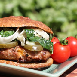 Bacon, Cheddar and Jalapeno Turkey Burgers