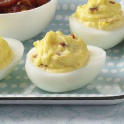 Bacon-Cheddar Deviled Eggs Recipe
