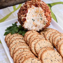 Bacon, Cheddar, Ranch Cheese Ball