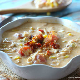 Bacon Chicken Corn Chowder