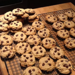 Bacon Chocolate Peanut Butter Cookies