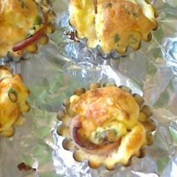 Bacon Crusted Mini Quiches