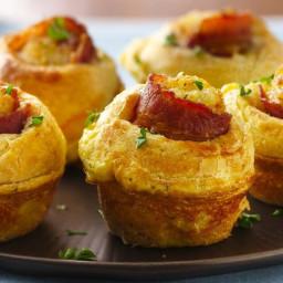 Bacon-Egg Breakfast Bites
