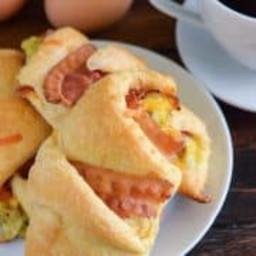 Bacon, Egg & Cheese Rollups Recipe