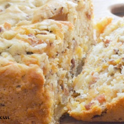 Bacon Gruyere Cheese Bread