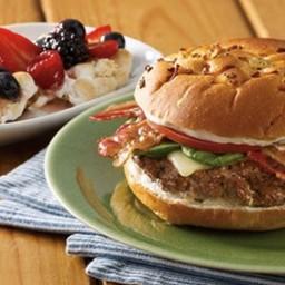 Bacon-Horseradish Cheeseburgers