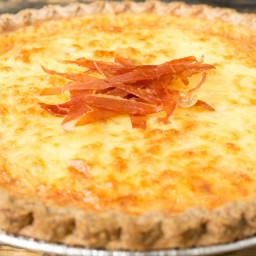 Bacon Lover's Duck Egg Quiche Recipe
