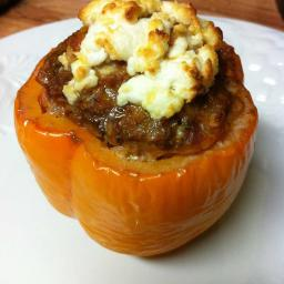 Bacon n' Beef stuffed peppers!