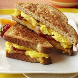 Bacon 'n' Egg Breakfast Grilled Cheese
