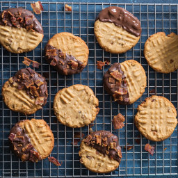 Bacon Peanut Butter Cookies