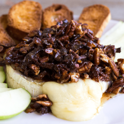 Bacon Pecan Baked Brie