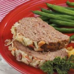 Bacon Swiss Meatloaf