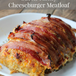 Bacon Turkey Cheeseburger Meatloaf