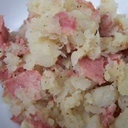 Bacon Turnip Mash
